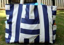La moda que se instala con los bolsos de playa grandes