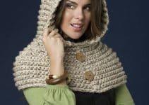 Las capuchas tejidas a crochet como accesorio para todos