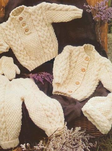 chompas de lana para bebes con botones