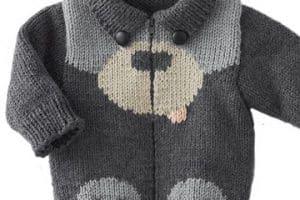 Las chompas de lana para bebes que ellos se merecen