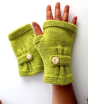 como hacer mitones a crochet faciles