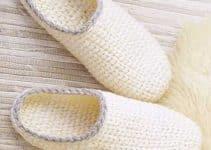 Nada como hacer pantuflas de lana a la medida de tus pies
