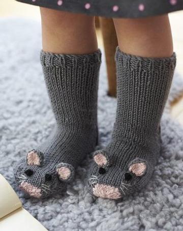 como tejer medias a crochet infantiles