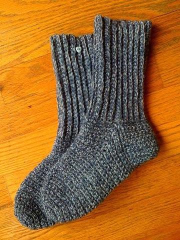 como tejer medias a crochet sencillas
