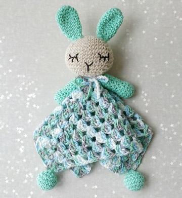 conejo tejido a crochet super lindos