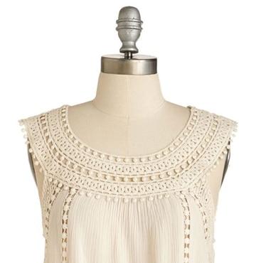 cuellos tejidos a crochet para vestidos juveniles