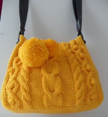 imagenes de bolsas tejidas crochet
