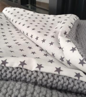 mantas de ganchillo de lana reversibles