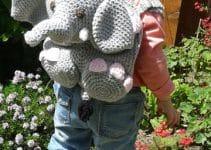 Mira los diseños originales de mochilas infantiles a crochet
