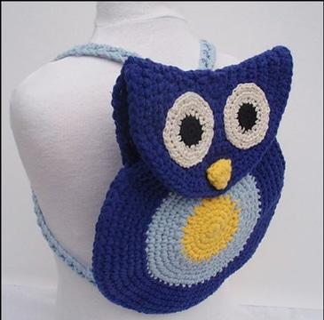 mochilas infantiles a crochet sencillos