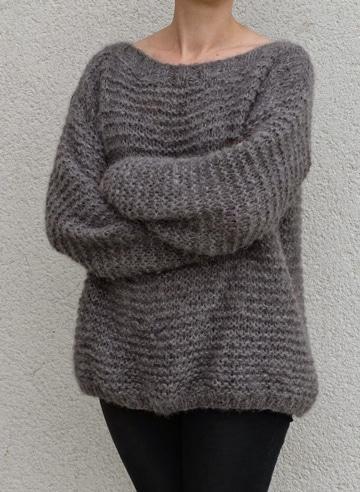 modelos de chompas de lana para mujer sencillos