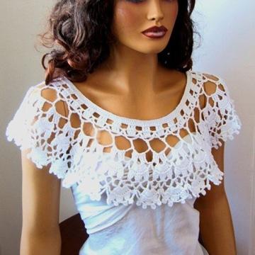 modelos de cuellos tejidos femeninos