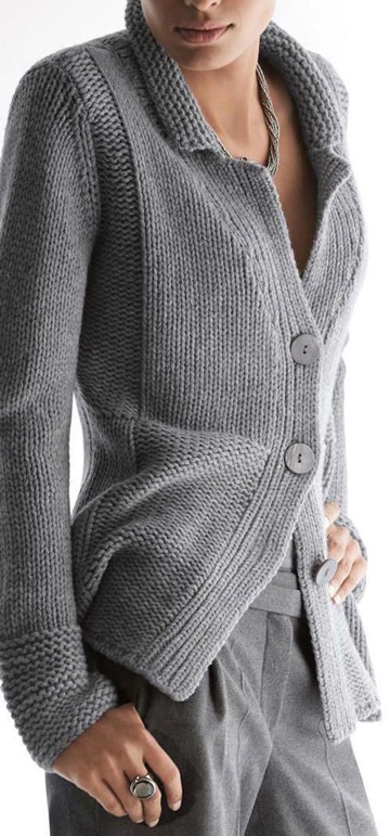 modelos de sacos de lana para mujer formales