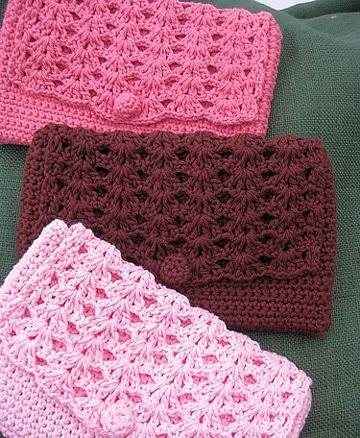 monederos a crochet paso a paso femeninos