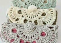 Aprende a hacer prácticos monederos a crochet paso a paso