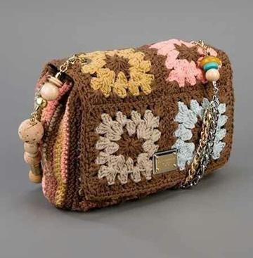 monederos de ganchillo cuadrados crochet