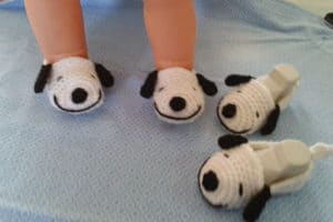 Las pantuflas tejidas a gancho para que todos mimen sus pies