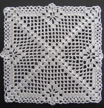pastillas a crochet para colchas cuadradas