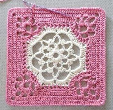 pastillas a crochet para colchas tutorial