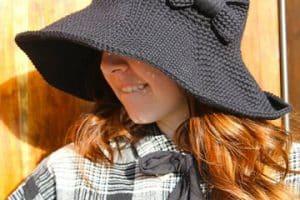 Modelos verano e invierno de sombreros a crochet para niña
