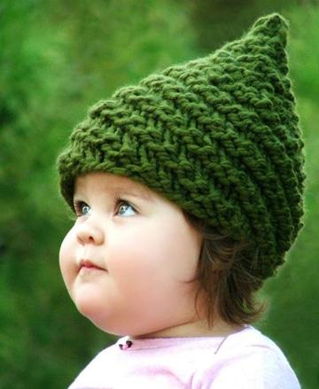 sombreros a crochet para niña pequeña