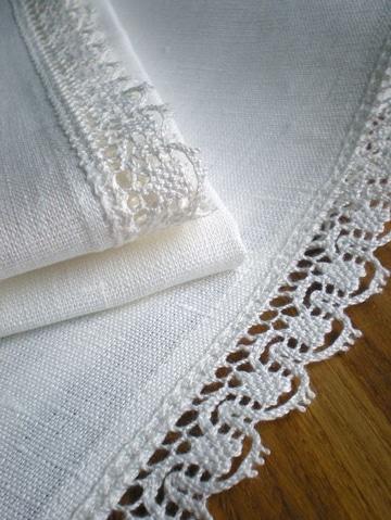 tejidos para orillas de servilletas bonitas