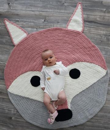 alfombras de trapillo originales para bebes