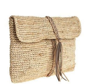 bolsas tejidas con rafia de mano