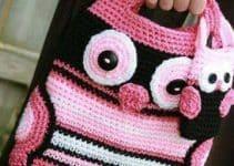 Looks personalizados y hermosos con bolsas tejidas para niña