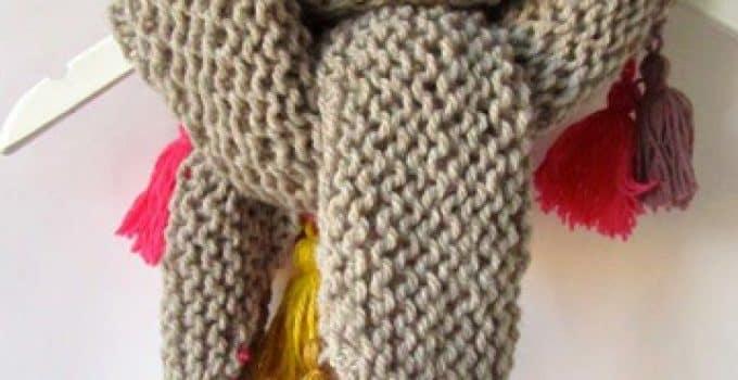 bufandas a crochet patrones | Tejidos a crochet paso a paso