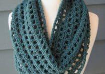 Unos femeninos cuellos y bufandas en crochet paso a paso
