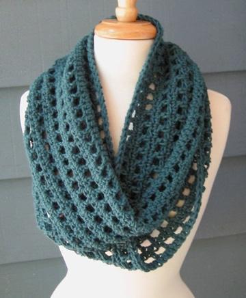bufandas en crochet paso a paso femeninas