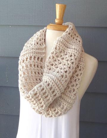 bufandas en crochet paso a paso sencillas