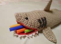 Unas cartucheras tejidas a crochet adorables y funcionales