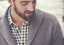 Las chompas de lana para hombres casuales y contemporáneos