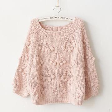 chompas tejidas para damas color rosa