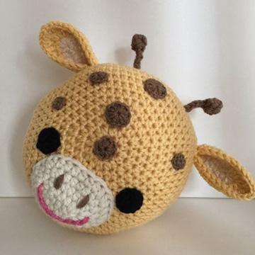 cojines a crochet para niños sencillos