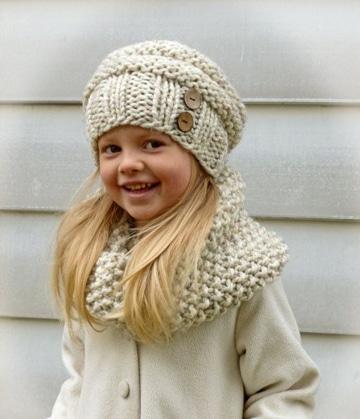 como hacer boinas a crochet para niñas