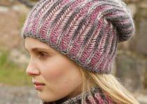 Mira como hacer boinas a crochet modernas y femeninas