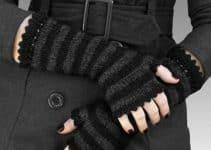 Diseños modernos y variados de como hacer guantes de lana