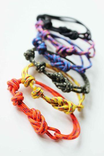como hacer pulseras de cuerda nudo sencillo