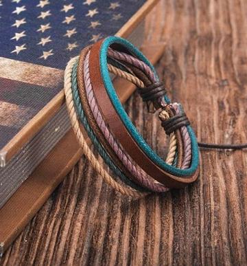 como hacer pulseras de cuerda unisex