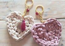 Aprende como hacer un corazon a crochet para tus creaciones