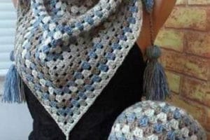 Más imagenes de bufandas tejidas para que sigas a la moda