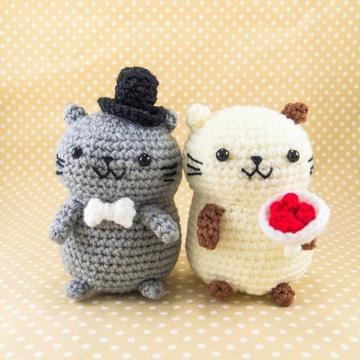 muñecos tejidos al crochet tiernos