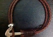 Hermosas y fáciles de hacer las pulseras tejidas para hombre