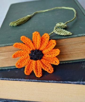 separadores de libros tejidos bonitos