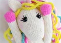 Los amigurumis de unicornios tejidos a crochet modernos