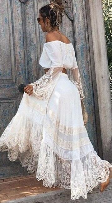 Los Vestidos Blancos Para Playa Como Se Deben Llevar Hoy