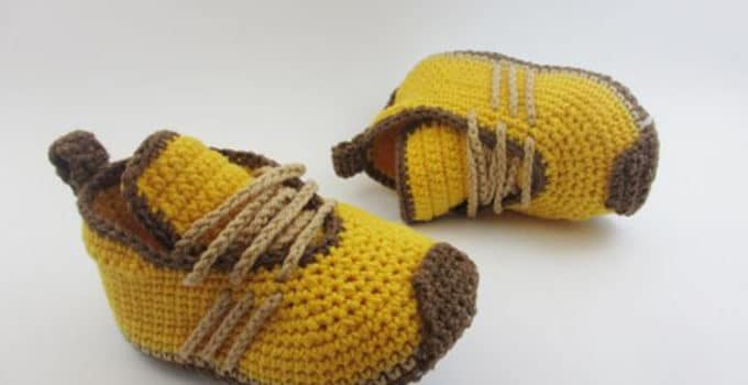 8965121c Mira diseños variados de zapatos tejidos para bebe varon